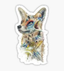 Heroes of Lylat Starfox Inspired Classy Geek Painting Sticker