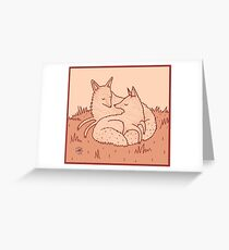 Hitched Greeting Card