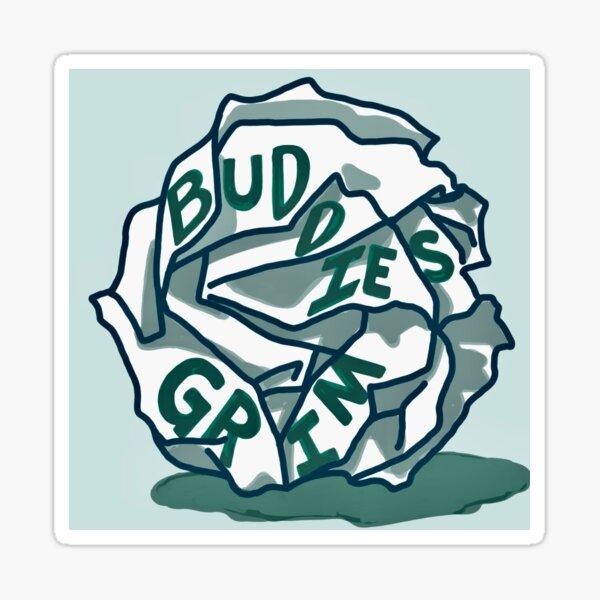 Buddies Grim Logo Sticker