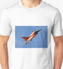 "RNethAF F-16AM Fighting Falcon J-015 ""Orange Lion"" T-Shirt"