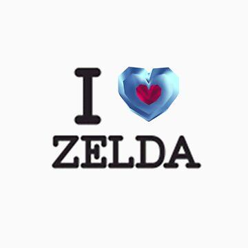 I Heartpiece Zelda by Thanix