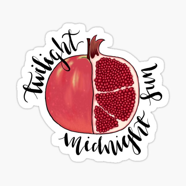 Twilight & Midnight Sun Forbidden Fruits Sticker