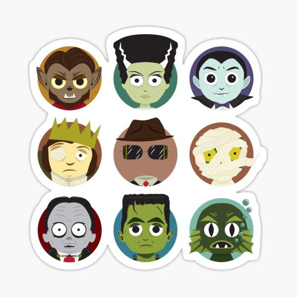 Little Monsters Sticker