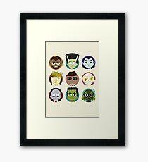Little Monsters Framed Print