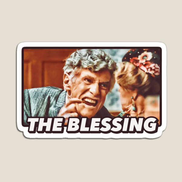 """Uncle Lewis """"The Blessing"""" - Christmas Vacation  Magnet"""