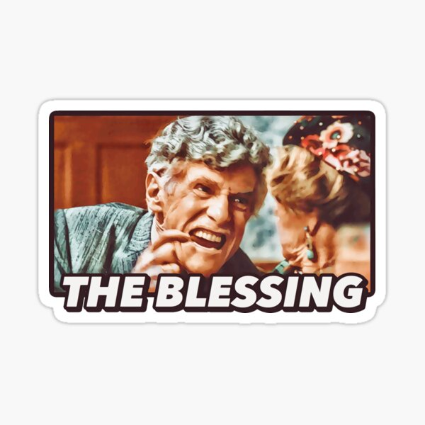 """Uncle Lewis """"The Blessing"""" - Christmas Vacation  Sticker"""