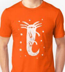 Axolotl Print Unisex T-Shirt
