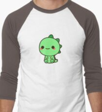 Kawaii Dinosaur Men's Baseball ¾ T-Shirt