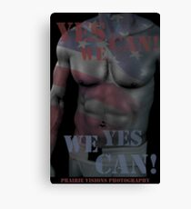 17619 Yes We Can! Canvas Print