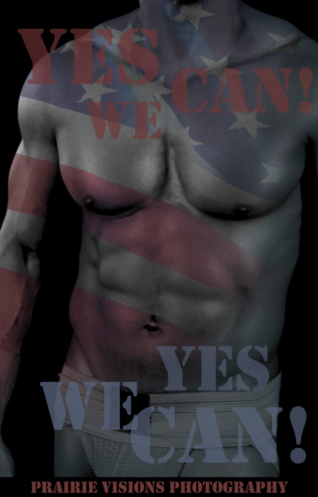 17619-2 Yes We Can! by PrairieVisions