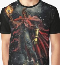 Epic Vincent Valentine Portrait Graphic T-Shirt