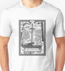 Vintage Legend of Zelda Master Sword Tarot T-Shirt