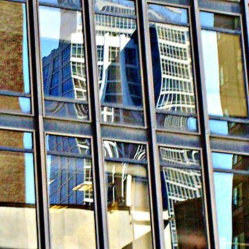 A Dr. Seuss Building Reflection, NYC by amberwayne52