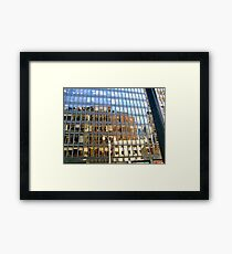 NYC Reflections Framed Print