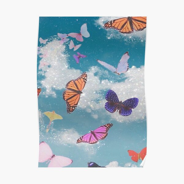 Butterfly poster Poster
