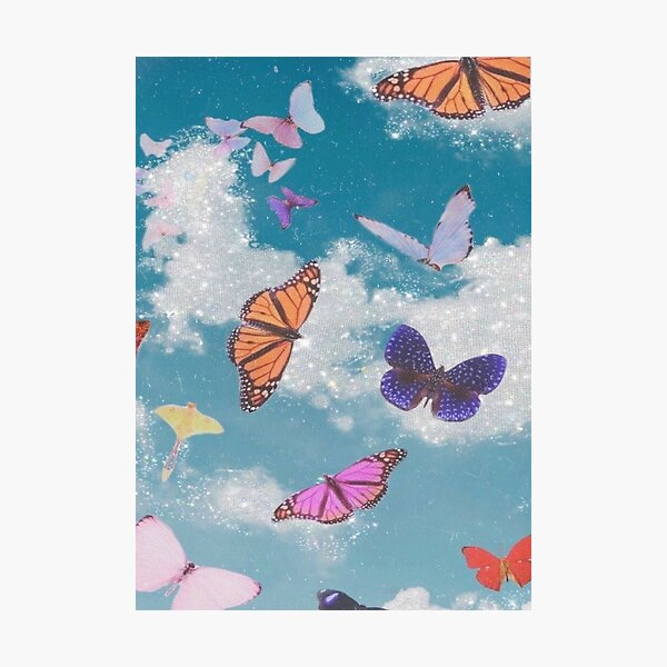 Butterfly Aesthetic Photographic Prints Redbubble Have some aesthetic pfps i did! redbubble