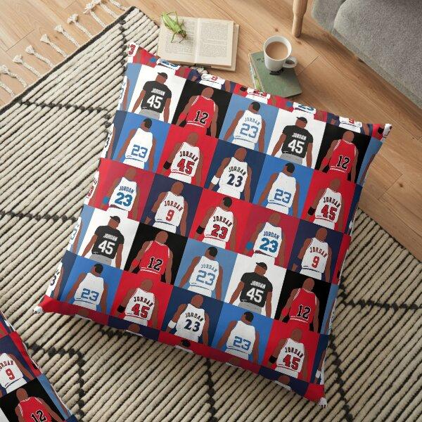 Michael Jordan Grid Floor Pillow