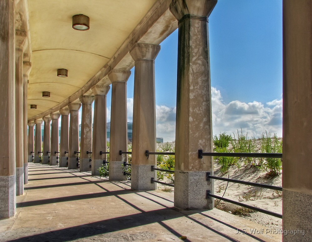 Pillars in the Sun by jswolfphoto