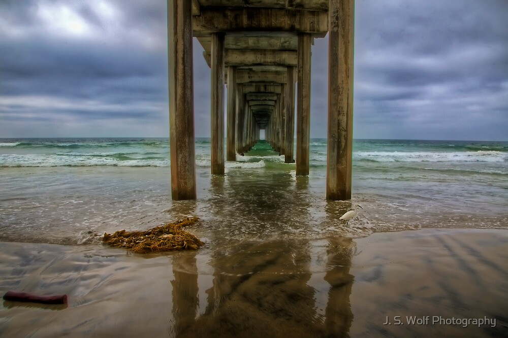 Scripps Pier by jswolfphoto