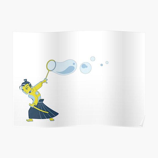 Bubble Samurai Poster