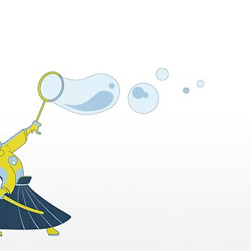 Bubble Samurai by damienmason