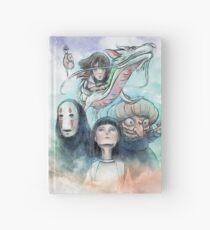 Spirited Away Miyazaki Tribute Watercolor Painting Hardcover Journal