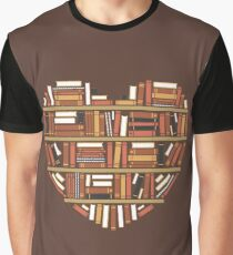 I Heart Books Graphic T-Shirt