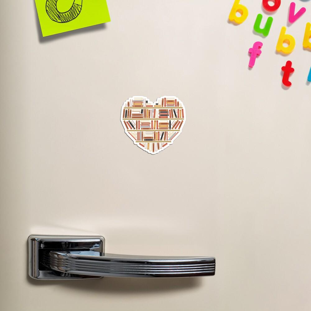 I Heart Books Magnet