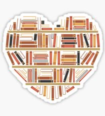 Pegatina I Heart Books