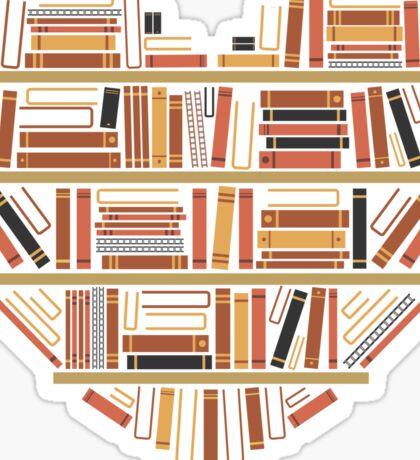 I Heart Books Sticker