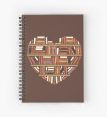 Cuaderno de espiral I Heart Books