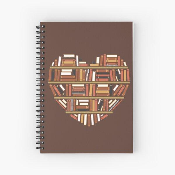 I Heart Books Cuaderno de espiral