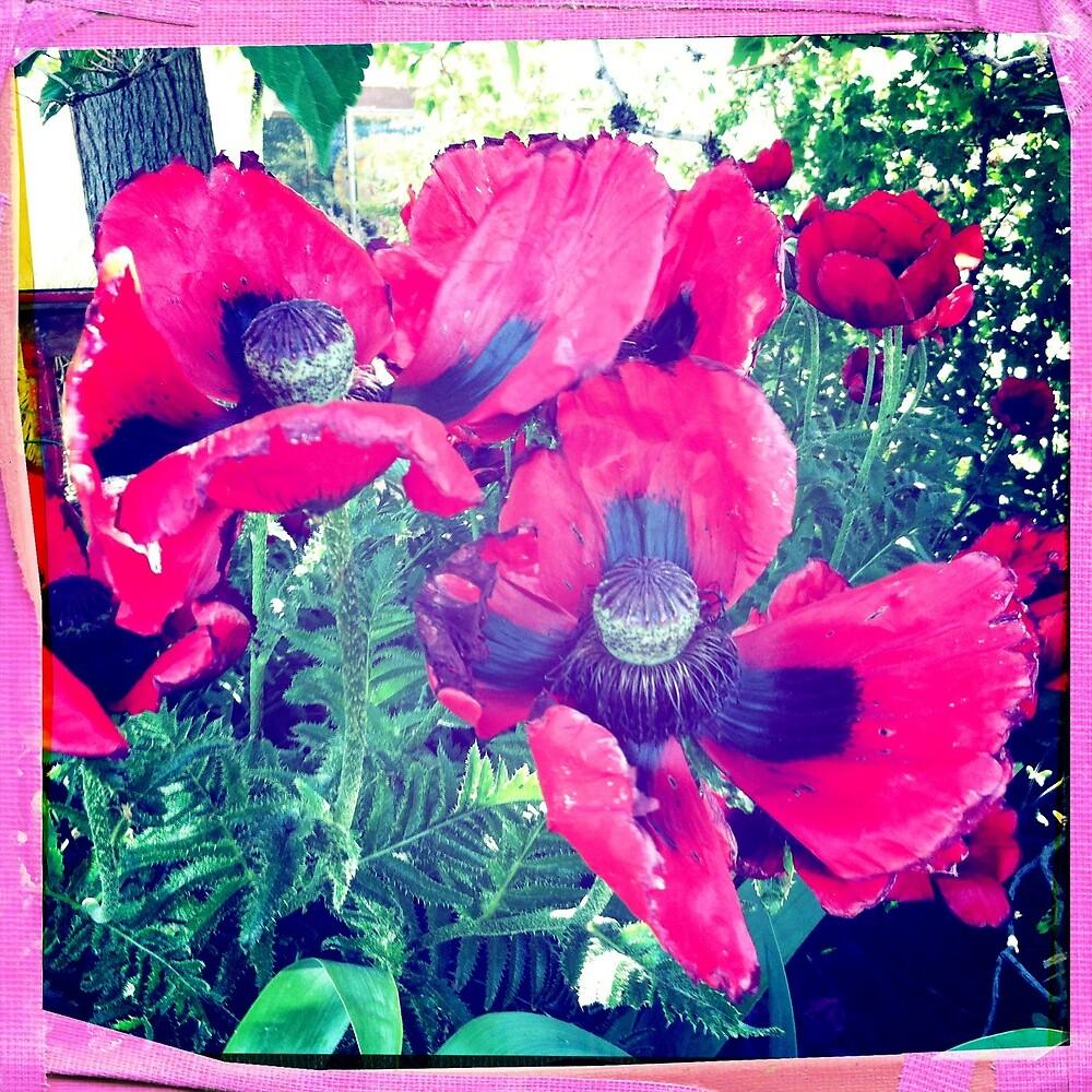 Michelle's Flower Garden by Mary  Sherman