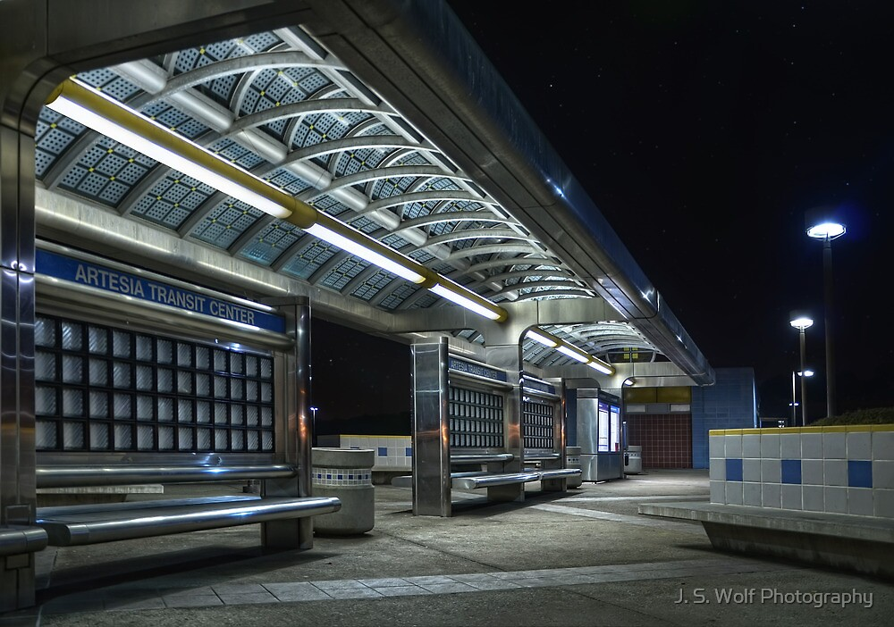 Artesia Transit Center by jswolfphoto