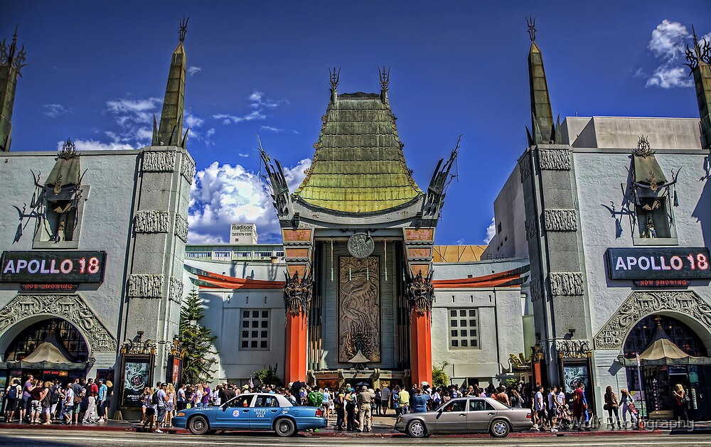 Grauman Chinese Theater by jswolfphoto