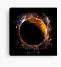 DUNE the spice must flow Canvas Print