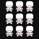 Mekkachibi Ninja Army (White) by Eozen