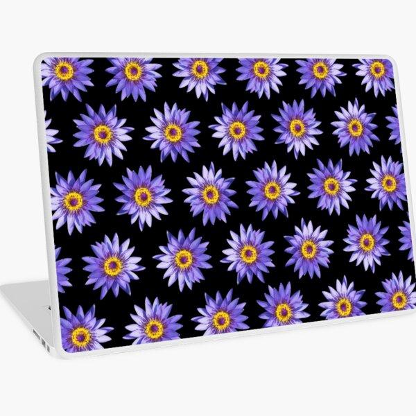Purple Lotus Flowers Laptop Skin