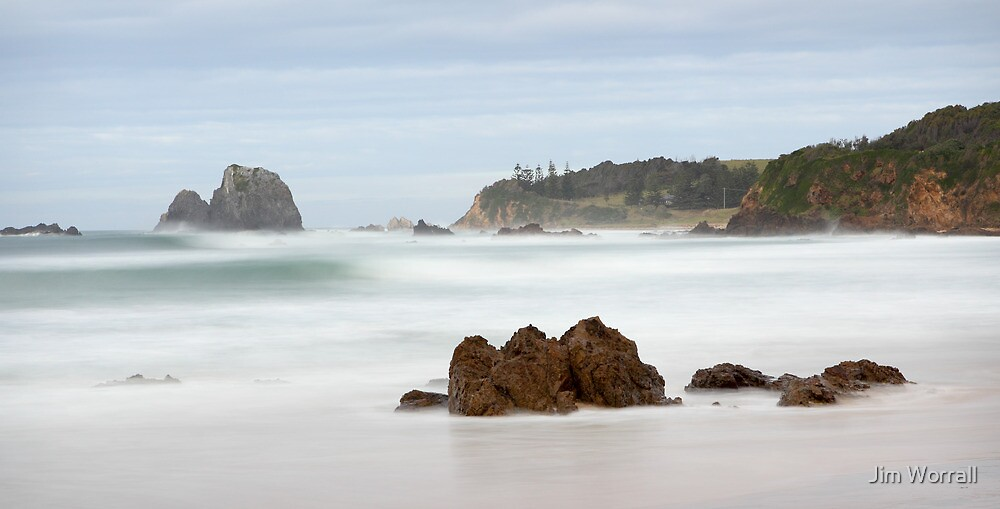 Narooma Beach by Jim Worrall