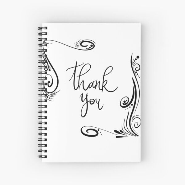Say Thank You! Spiral Notebook