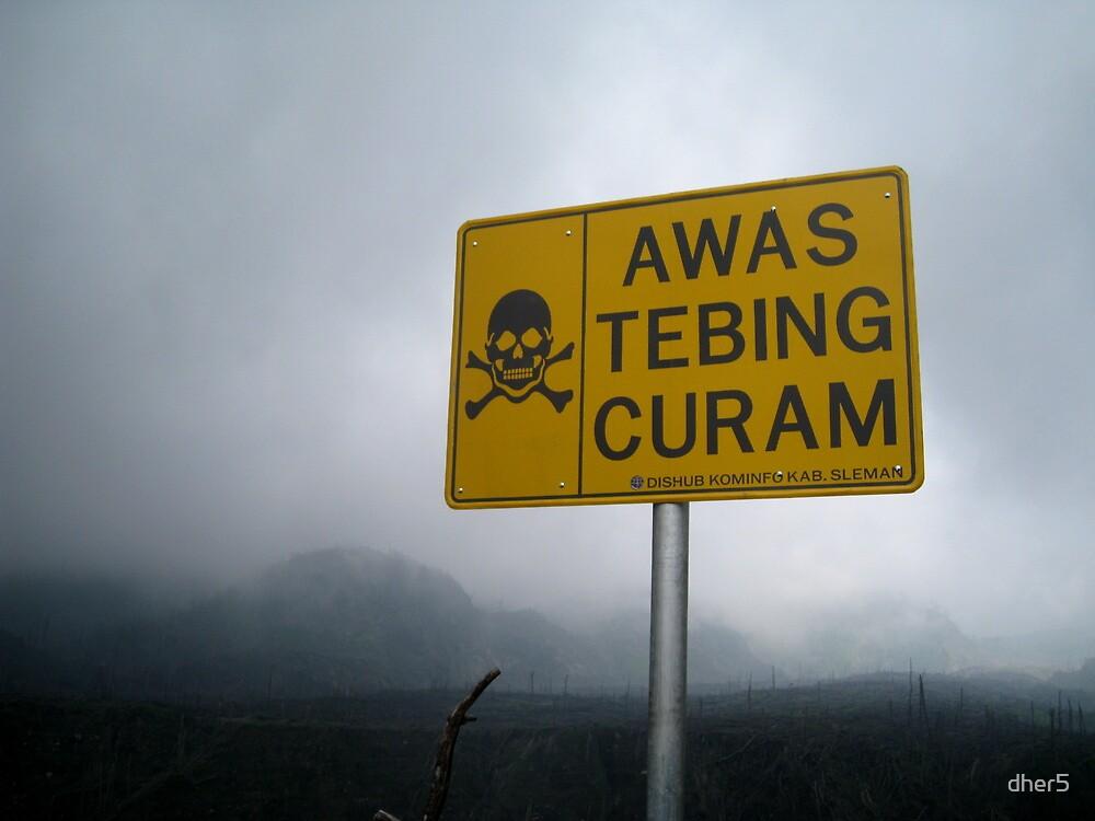 Danger: Mount Merapi  by dher5