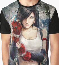 Tifa Lockhart FF7 Portrait Graphic T-Shirt