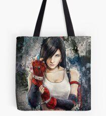 Tifa Lockhart FF7 Portrait Tote Bag