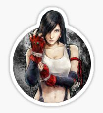 Tifa Lockhart FF7 Portrait Sticker