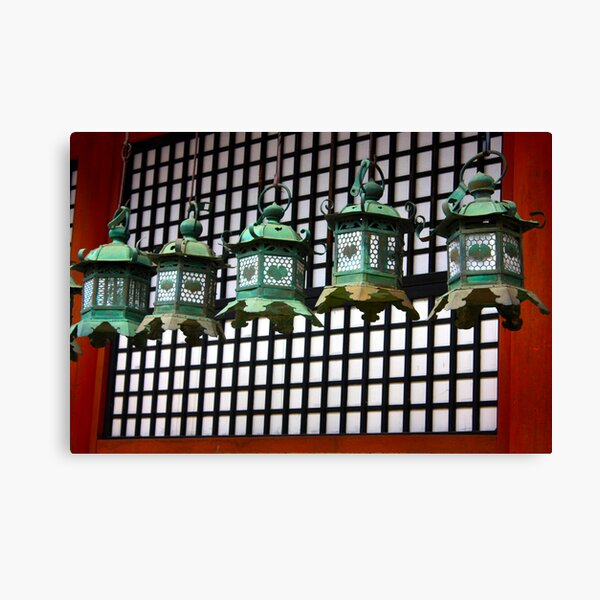 Lanterns! Canvas Print