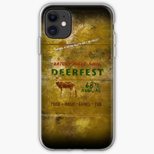 68'th Annual Deerfest! iPhone Soft Case