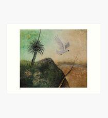 LANDSCAPE OF THE LOST COCKATOO Art Print