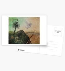 LANDSCAPE OF THE LOST COCKATOO Postcards