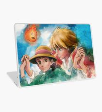 One Magical Family Sophie and Howl Laptop Skin