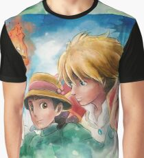 One Magical Family Sophie and Howl Graphic T-Shirt